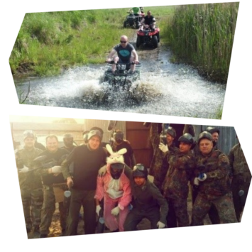 wieczory kawalerskie quady paintball