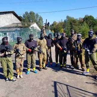 paintball team Warszawa